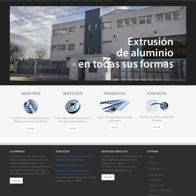 Alpros S.A. - Extrusión de Aluminio